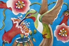 NECaldwell-Talavera-Hummingbird-Painting-Watercolor-15x22-2020