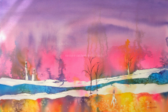 Drift Wood - Watercolor 22x30