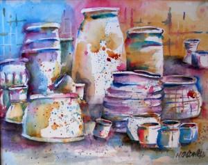 Colorful Pots plein air 1000-14-QTR 1200px